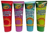 Crayola Childrens Bathtub Fingerpaint Soap Assorted Colors - (4) 3 Fl Oz Tubes