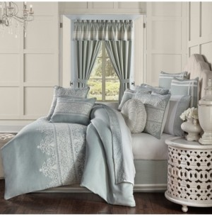 J Queen New York Patricia California King 4 Pieces Comforter Set Bedding
