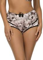 Parfait by Affinitas Charlotte Floral Shimmer Highwaist Brief 6917