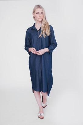 Beaumont Organic Amelie Cotton Denim Tunic - Blue