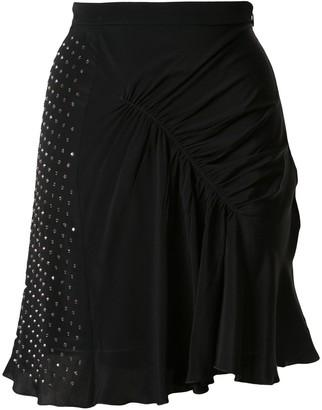 No.21 Embellished Gathered Skirt