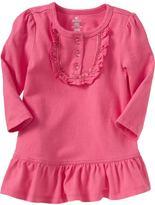 Ruffled Bib Dresses for Baby