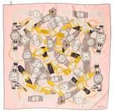 Cartier Printed Silk Scarf
