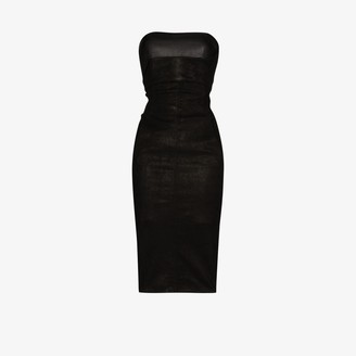 Rick Owens Sleeveless Bustier Dress