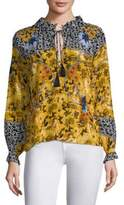Saloni Ali Silk Printed Blouse