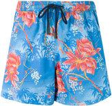 Etro floral print swim shorts - men - Nylon - S