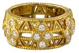 Judith Ripka 18K Diamond Band