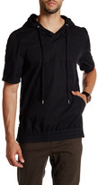 Helmut Lang Short Sleeve Hoodie Pullover