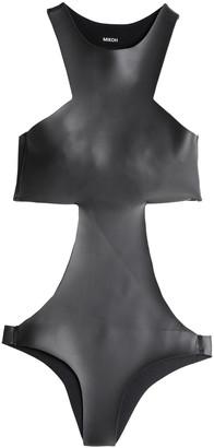 Mikoh Cutout Coated Neoprene Swimsuit