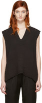 Raquel Allegra Black Tunic Tank Top