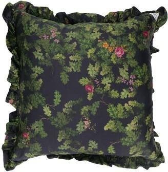 Preen by Thornton Bregazzi floral & foliage print cushion