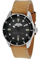 Armani Exchange Classic Collection AX1707 Men's Leather Strap Watch