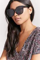 Forever 21 FOREVER 21+ Oversized Cateye Sunglasses
