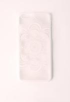 Missguided Mandala iPhone 6+ Case White