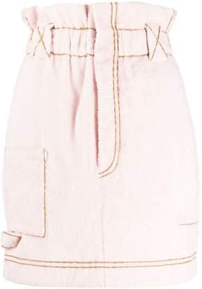 Fendi Paperbag Waist Skirt