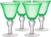 Artland Iris Set of 4 Wine Glasses