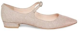 Kate Spade Mallory Glitter Mary Janes