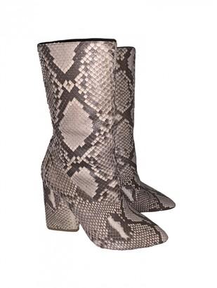 Yeezy Beige Water snake Boots