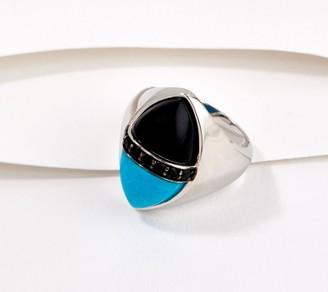 Generation Gems Turquoise & Opaque Gemstone Cabochon Ring
