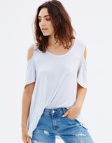 Living Doll Cut Out Swing Tee