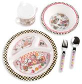 Mackenzie Childs Toddler's Snow Dinnerware Set