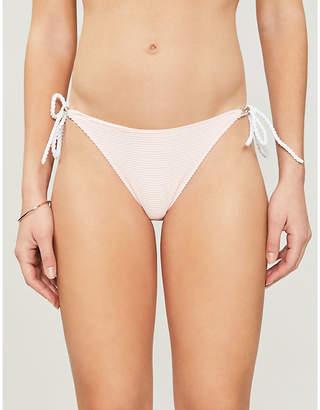Heidi Klein San Marino rope-tied bikini bottoms