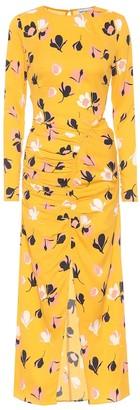 Self-Portrait Floral stretch crApe dress