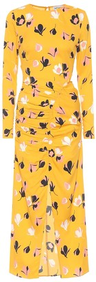 Self-Portrait Floral stretch crepe dress