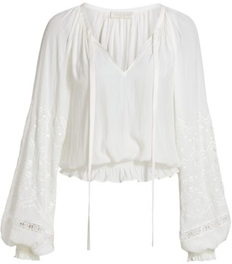 Ramy Brook Romy Eyelet Top