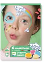 Djeco Rainbow Makeup - Set of 6