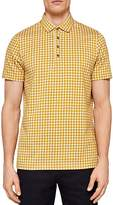 Ted Baker Lost Geo Print Regular Fit Polo