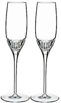 Marquis by Waterford Addison Crystal Flute Pair
