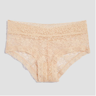 Joe Fresh Lace Boyshorts, Nude (Size L)