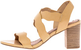 Restricted Nude Block Heel Sandal