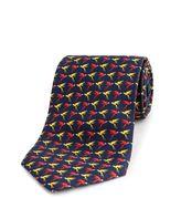 Thomas Pink Parrot Print Tie