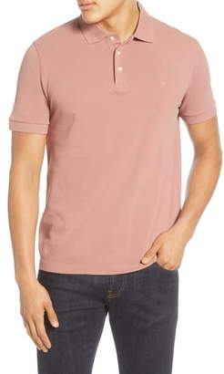 French Connection Regular Fit Solid Pique Polo