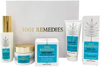 1001 Remedies Magic Skin, Treasure Oil & Good Night- Stress Relief & Beauty Gift Set