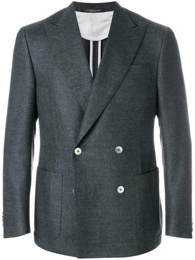Corneliani double breasted blazer