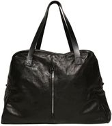 The Last Conspiracy Washed Leather Weekender Bag