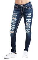 True Religion Curvy Skinny Fit Big T Ripped Jean
