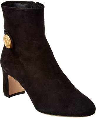 Dolce & Gabbana Side Button Suede Bootie