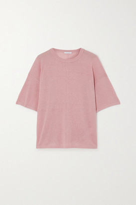 Ninety Percent Organic Hemp-blend T-shirt - Antique rose