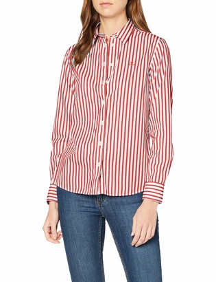 Gant Women's The Broadcloth Striped Shirt Blouse