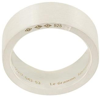 Le Gramme 9 Grams Slick Brushed Ring