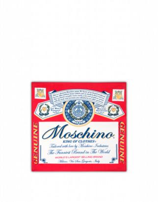 Moschino Budweiser Beach Towel Woman Red Size U It - (one Size Us)