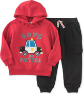 Kids Headquarters 2-Pc. Silly Monkey Hoodie & Cargo Pants Set, Baby Boys (0-24 months)
