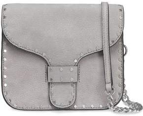 Rebecca Minkoff Midnighter Studded Suede Shoulder Bag