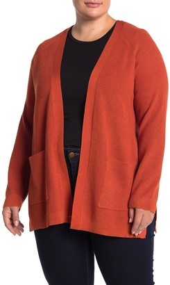 Cyrus Thermal 2-Pocket Open Front Cardigan