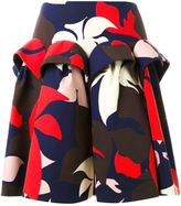 DELPOZO floral print skirt - women - Cotton - 38