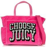Juicy Couture Choose Juicy Pink Baby Bag